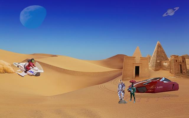 mimpi padang pasir