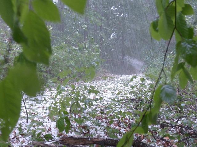 mimpi hujan es
