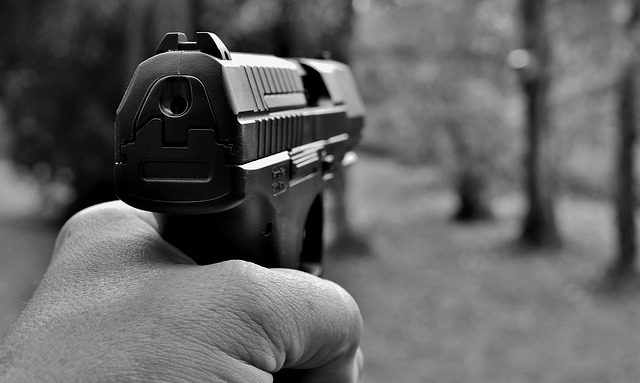 mimpi senjata api