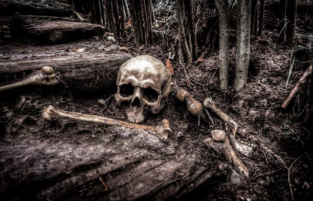 mimpi tulang berserakan